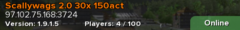 Scallywags  100x 150act